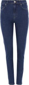 Jeansy Versace Jeans w street stylu