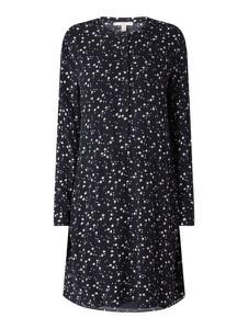 Granatowa sukienka Esprit z długim rękawem w stylu casual
