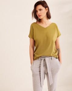 Bluzka Diverse w stylu casual z krótkim rękawem