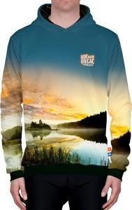 Bluza Power Canvas z bawełny w młodzieżowym stylu z nadrukiem