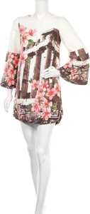 Sukienka Tu mini w stylu casual z okrągłym dekoltem
