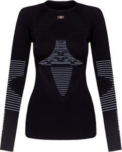 Czarny t-shirt X Bionic z nadrukiem