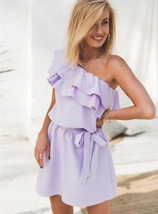 Sukienka SELFIEROOM mini bez rękawów w stylu casual