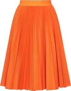 Pomarańczowa spódnica Drykorn w stylu casual midi