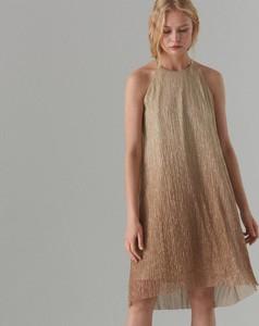 f9b9d9c421 Brązowa sukienka Mohito w stylu casual