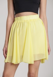 Żółta spódnica Renee w stylu casual