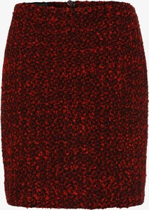 Czerwona spódnica Marie Lund mini z tkaniny
