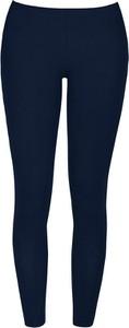 Niebieskie spodnie COTONELLA z bawełny