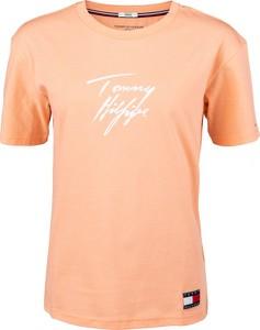 Bluzka Tommy Hilfiger z krótkim rękawem
