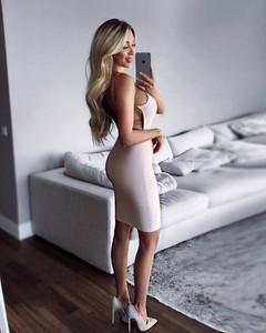 Różowa sukienka Billion Ladies bandażowa
