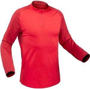 Różowa koszulka z długim rękawem Quechua