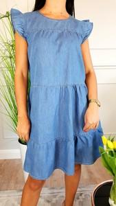 e893e0532f sukienka jeansowa h m - stylowo i modnie z Allani