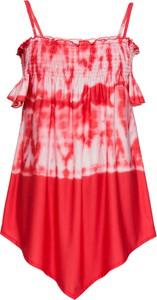 Czerwony top bonprix RAINBOW