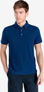 Koszulka polo Armani Jeans z bawełny z krótkim rękawem