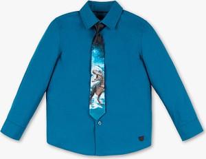 Niebieska koszula dziecięca Palomino z bawełny