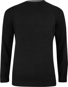Czarny sweter Adriano Guinari