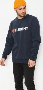Niebieska bluza Element z bawełny w młodzieżowym stylu