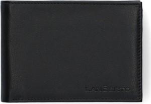 Czarny portfel męski LANCERTO