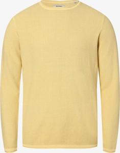 Żółty sweter Jack & Jones z dzianiny w stylu casual