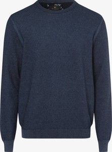 Niebieski sweter Nils Sundström w stylu casual