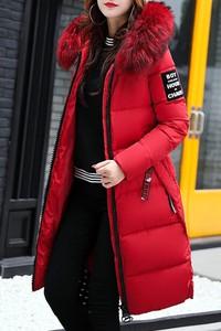 Czerwona kurtka IVET w stylu casual