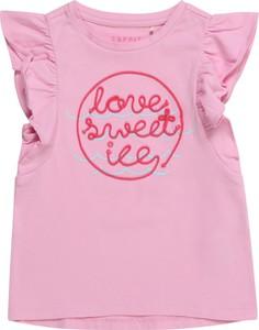 Bluzka dziecięca Esprit dla dziewczynek