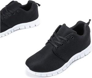 Buty sportowe Royalfashion.pl w sportowym stylu z płaską podeszwą sznurowane