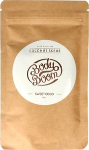 Bielenda Body Boom, peeling kawowy do ciała, Sweet Coco, 100g