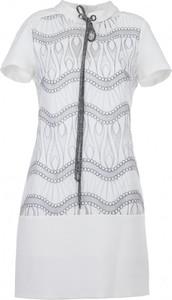 Sukienka VISSAVI z krótkim rękawem oversize mini