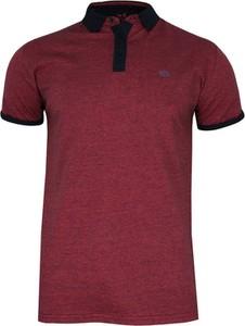 Czerwona koszulka polo Just yuppi z tkaniny