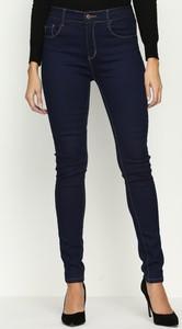 Renee granatowe jeansy narrow back