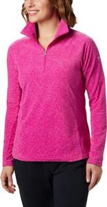 Różowa bluza Columbia z plaru