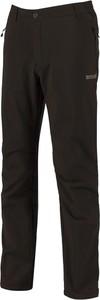 Czarne spodnie sportowe Regatta