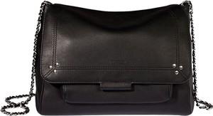 Czarna torebka Jérôme Dreyfuss w stylu glamour
