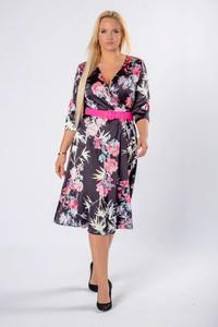 Sukienka Moda Dla Ciebie dla puszystych midi