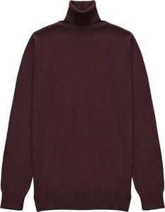 Sweter Borgio z bawełny w stylu casual