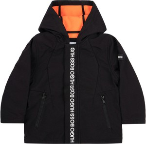 Czarna kurtka dziecięca Boss