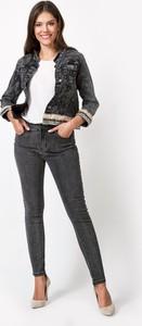Kurtka Molton z jeansu krótka