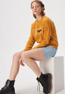 Bluza Sinsay w młodzieżowym stylu krótka