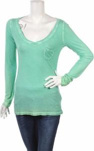 Zielona bluzka Better Rich w stylu casual z okrągłym dekoltem
