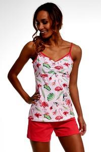 Różowa piżama Cornette