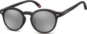 Stylion Okulary dziecięce okrągłe lenonki lustrzane CS73