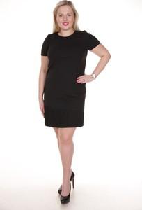 Sukienka Fokus z krótkim rękawem midi w stylu klasycznym