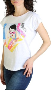 Bluzka Yes Zee z krótkim rękawem z bawełny w młodzieżowym stylu