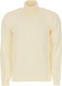 Żółty sweter Roberto Collina z wełny
