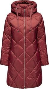 Czerwony płaszcz Esprit w stylu casual