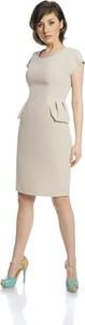 Sukienka Fokus bez rękawów w stylu casual
