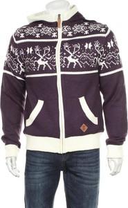 Fioletowy sweter Soulstar