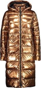 Złoty płaszcz CMP w stylu casual