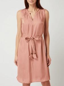 Różowa sukienka Cream bez rękawów z dekoltem w kształcie litery v mini